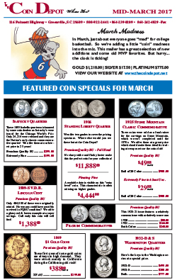 Rare Coin Express - Mid-March 2017
