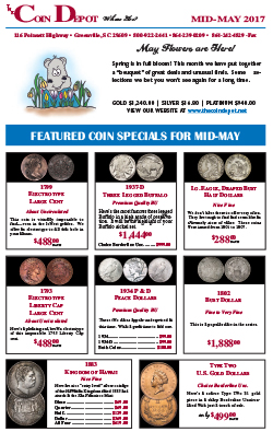 Rare Coin Express - Mid-May 2017